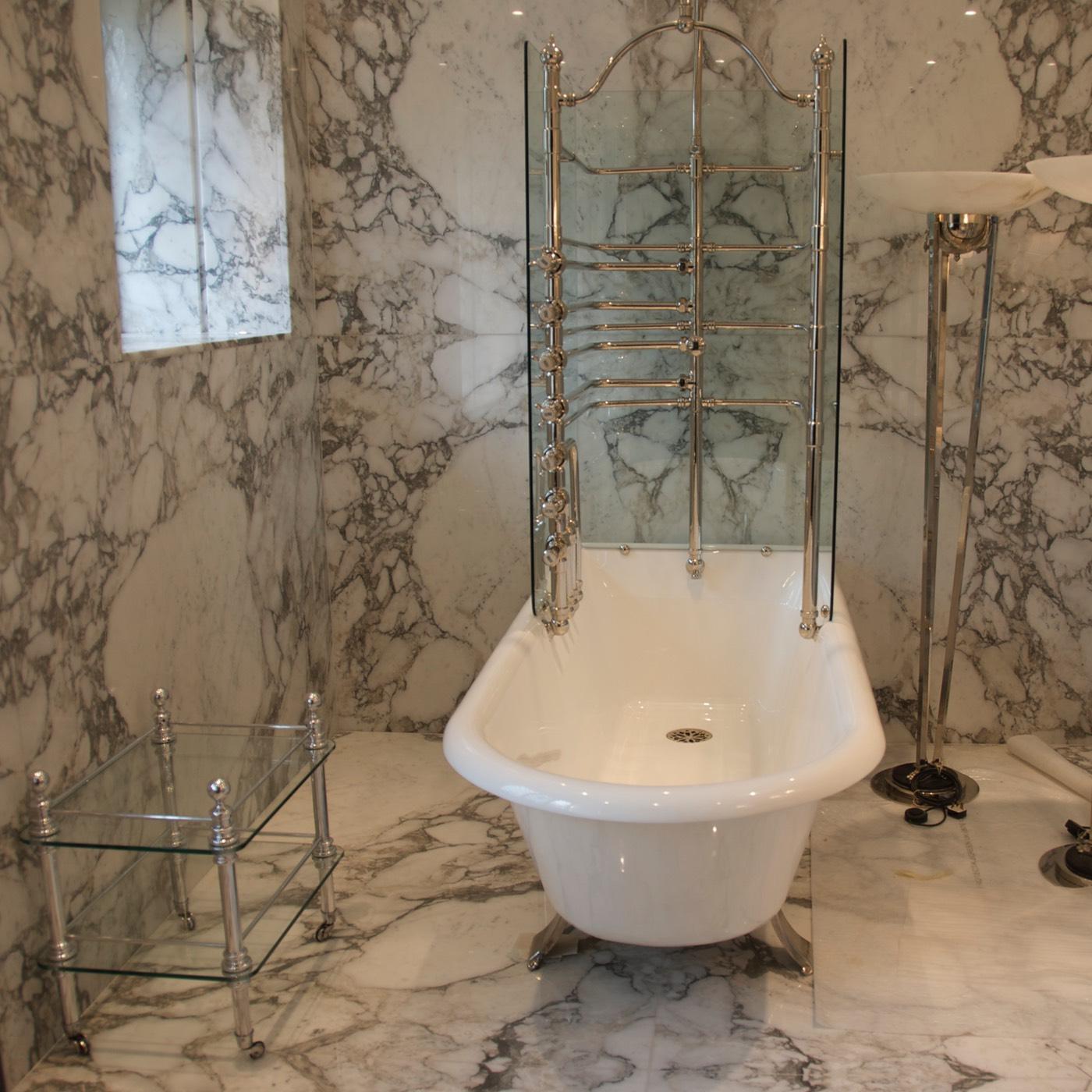 Керамогранит в ванной комнате