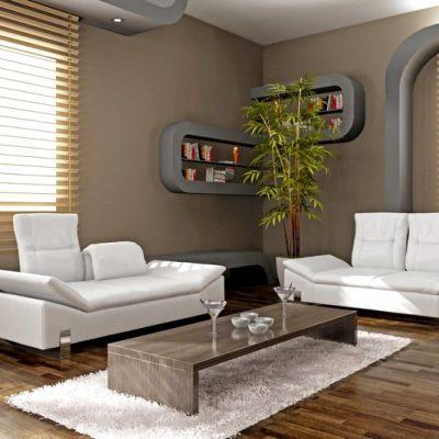 горизнотальные жалюзи в интерьере квартиры