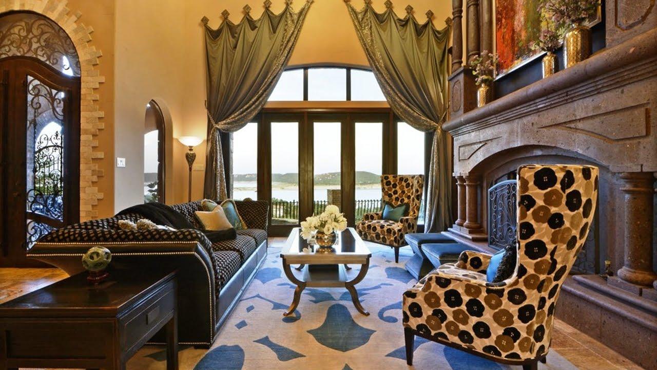 Гостиная в средиземноморском стиле - слияние романтики и традиций великих стран