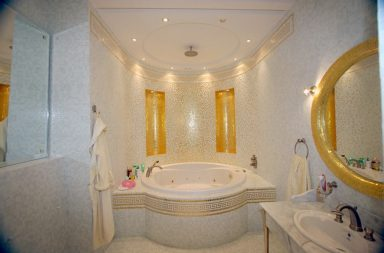 Греческий стиль ванной