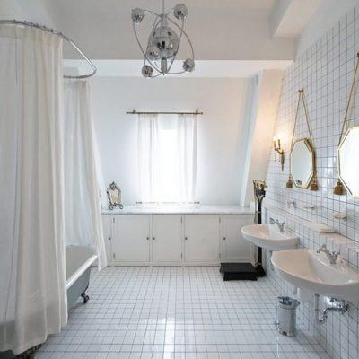 Балдахин на ванну в викторианском стиле