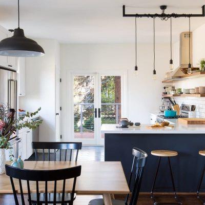 Варинат освещения кухни