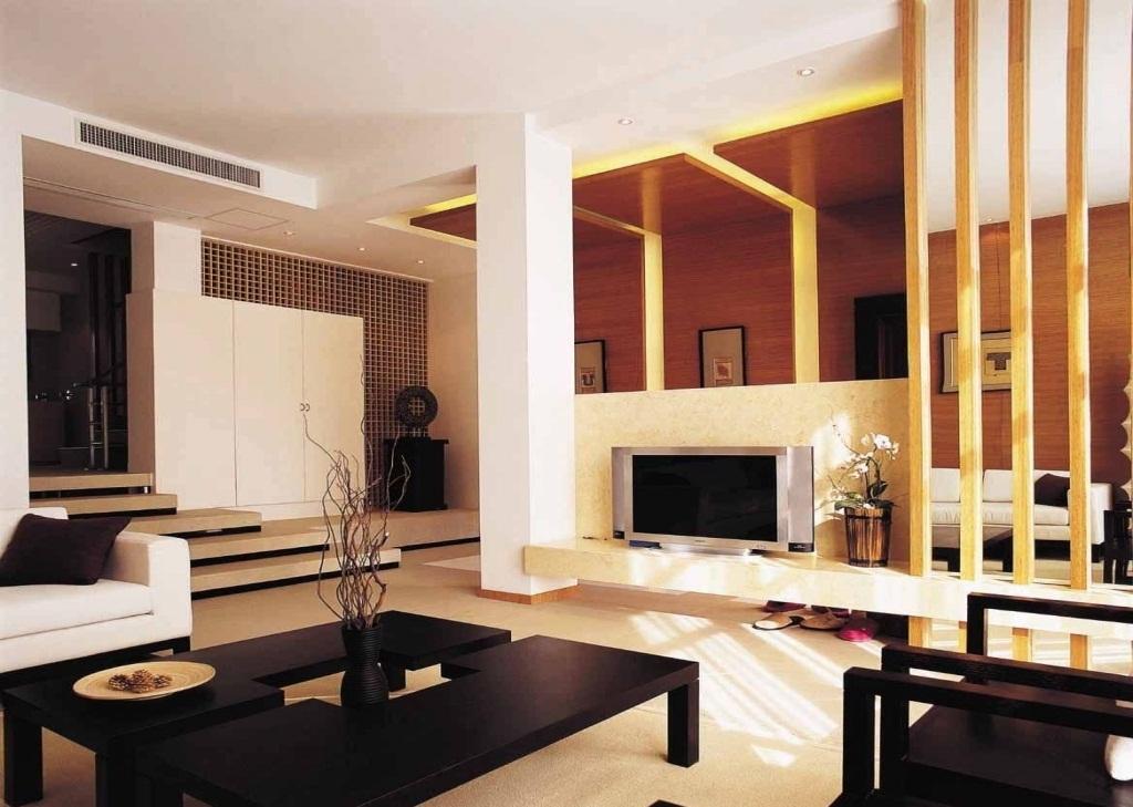 Черный отлично подчеркнет основной светлый цвет помещения