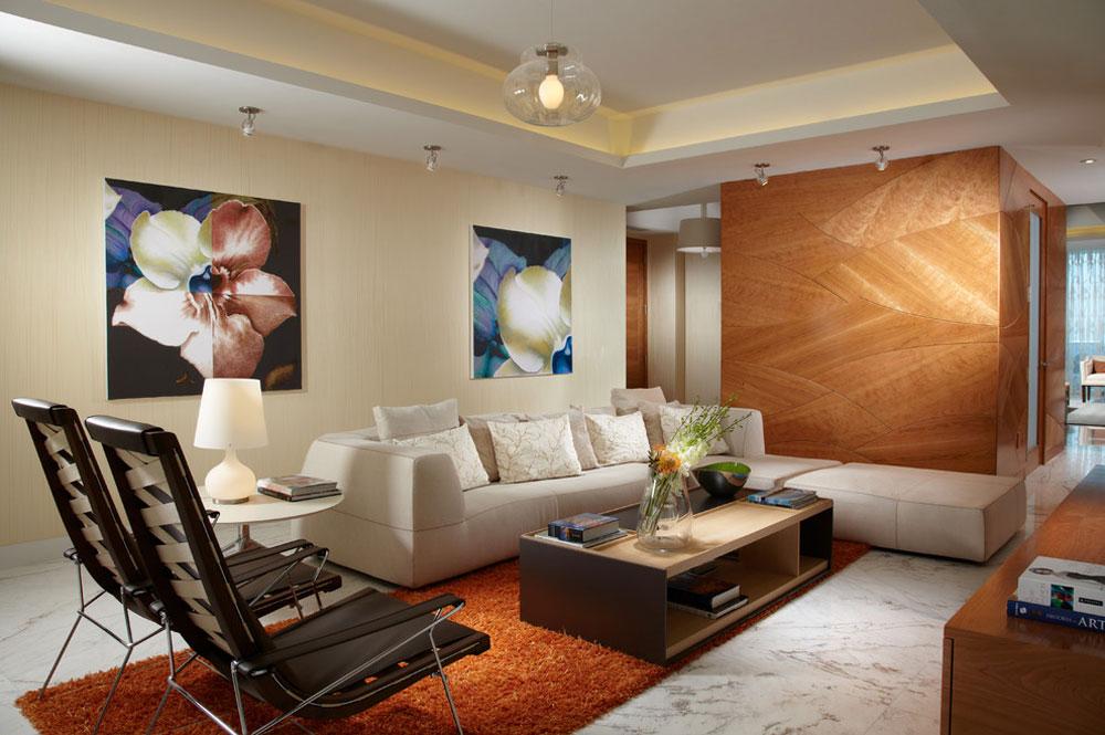 Модерн является одним из самых популярных стилей в дизайне интерьеров
