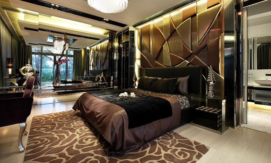 Современная комната в стиле модерн