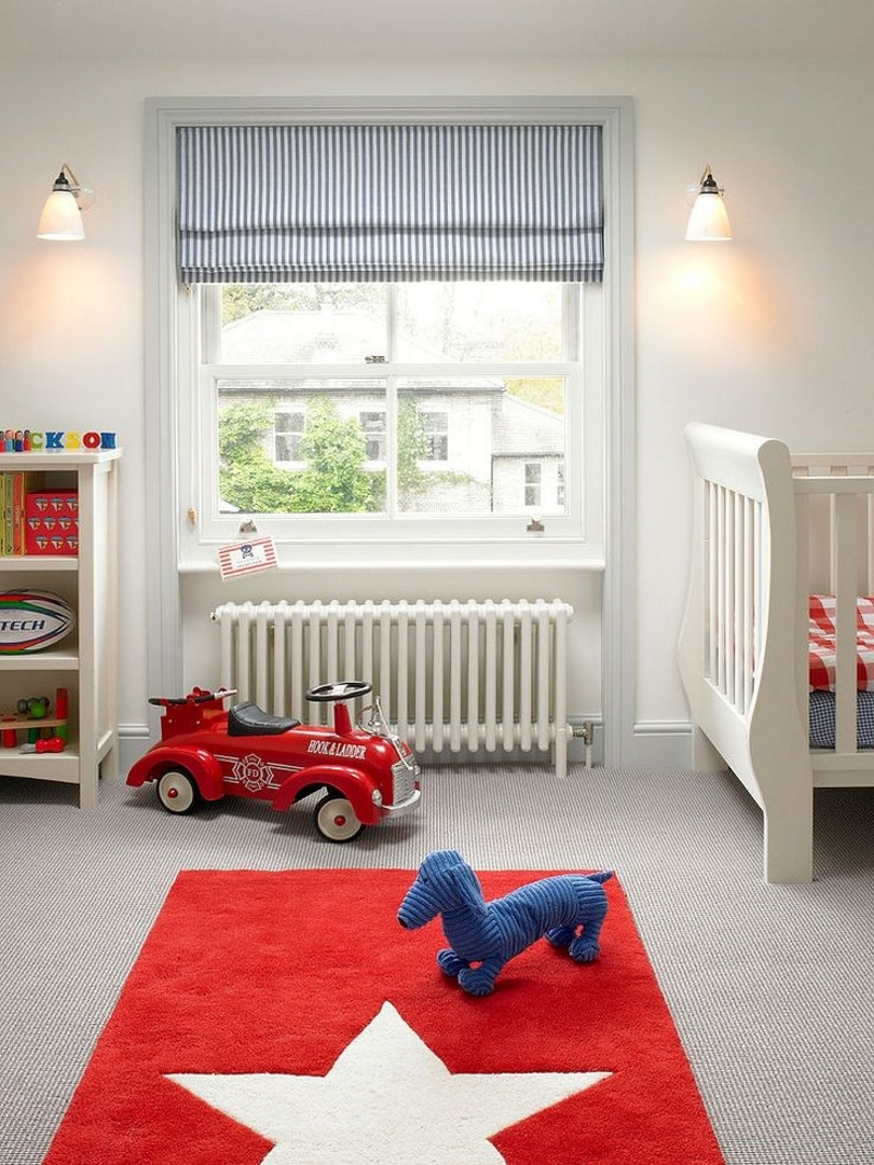 Римские шторы для детей
