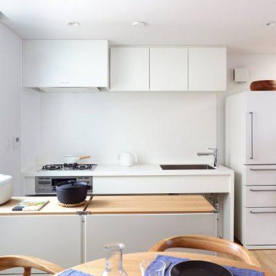 Белый дизайн мебели