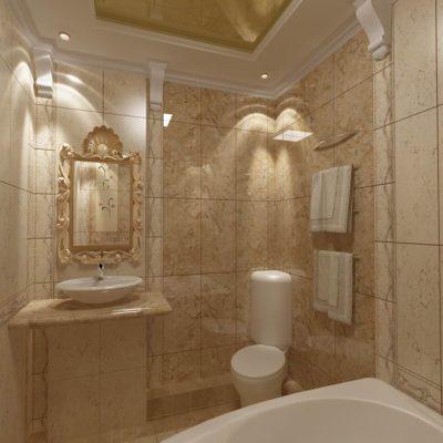 Стиль греков ванной комнаты