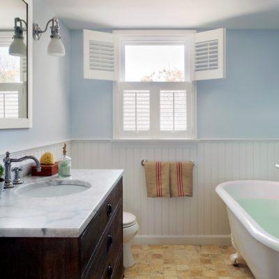 Естественное освещение в ванной