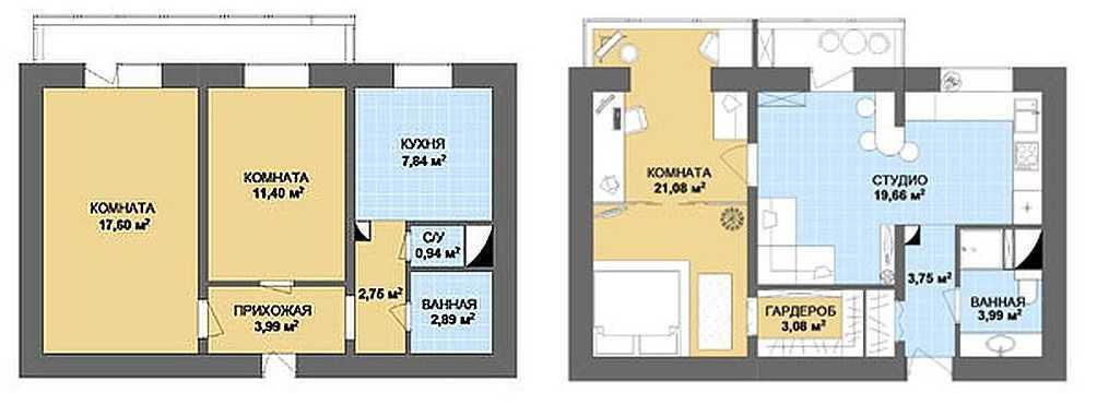 Как из 2 сделать 3 комнаты