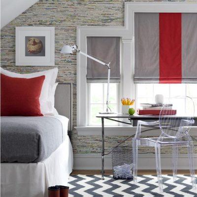 Подбор римских штор под текстиль комнаты