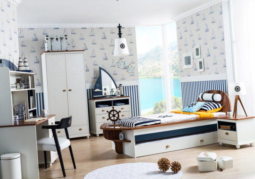 Полоска - тельняшка для оформления текстиля мебели