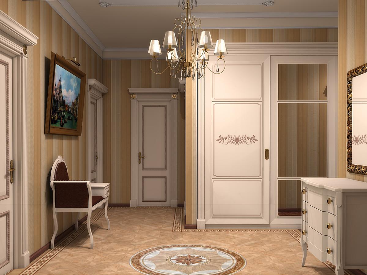 Фигурная мебель в стиле неоклассики
