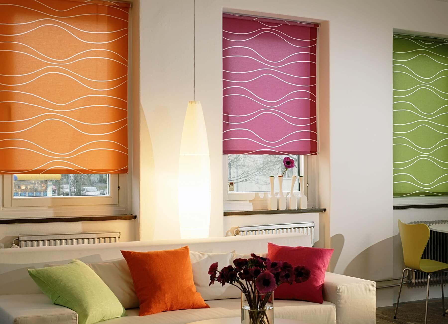 Рулонные шторы блэкаут можно подобрать под любой размер стеклопакета