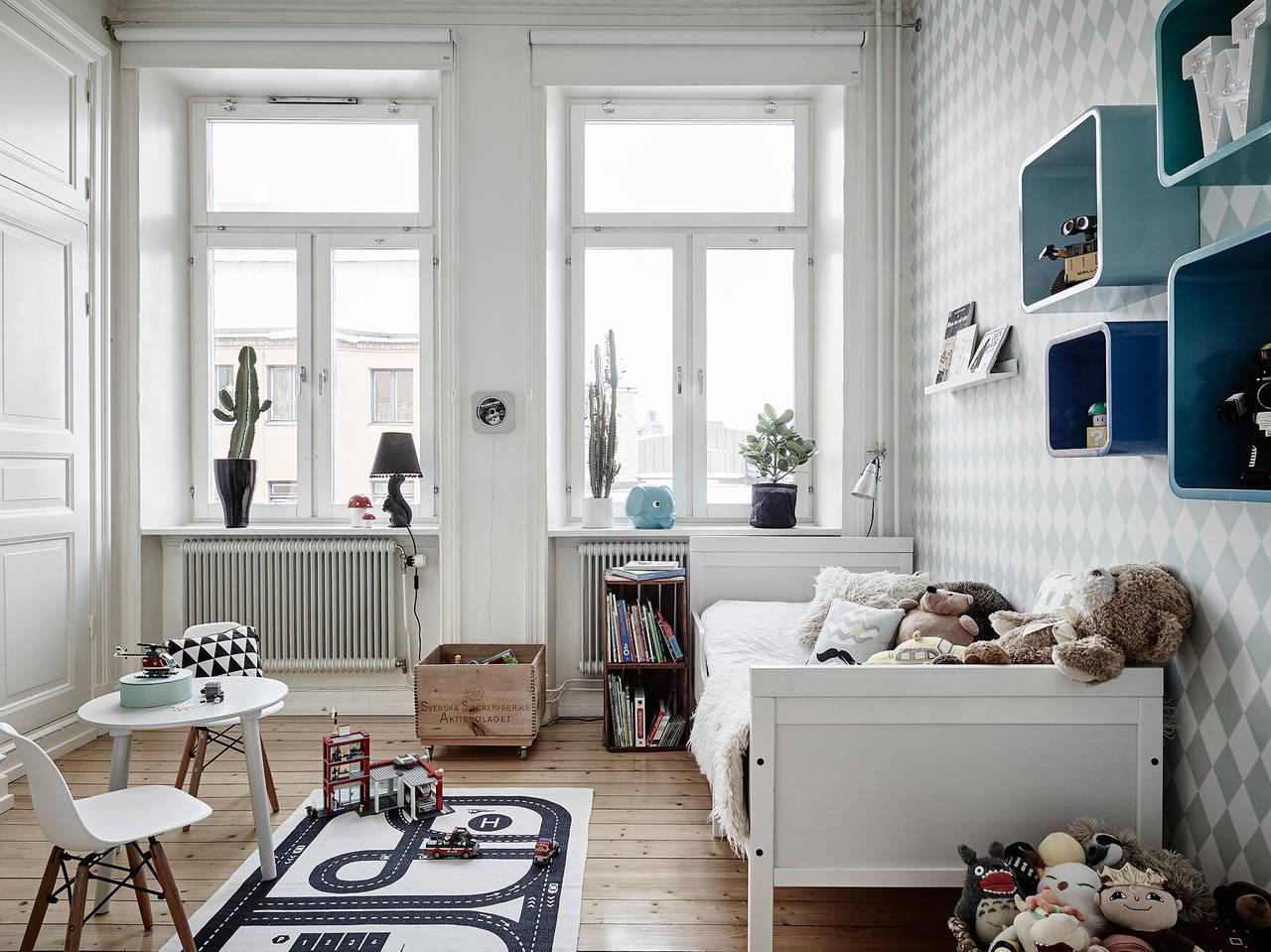 детская в скандинавском стиле правильное оформление дизайна