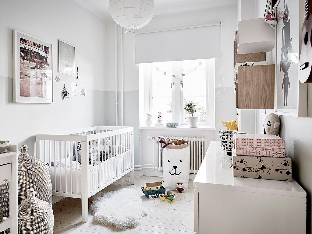 Белый - излюбленный цвет скандинавского стиля