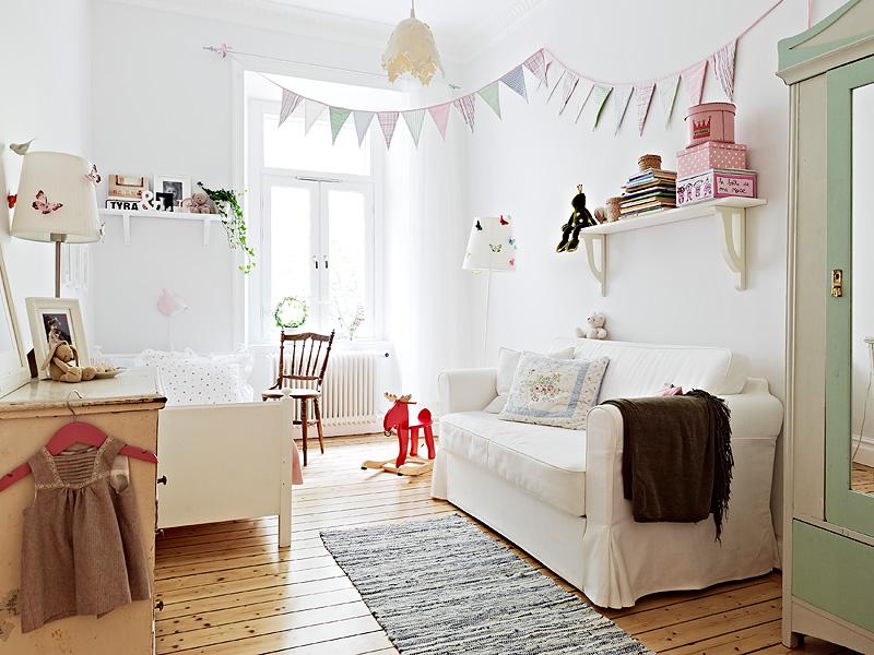 В комнате для детей должно быть много света