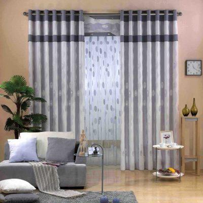 Оформление комнаты шторами