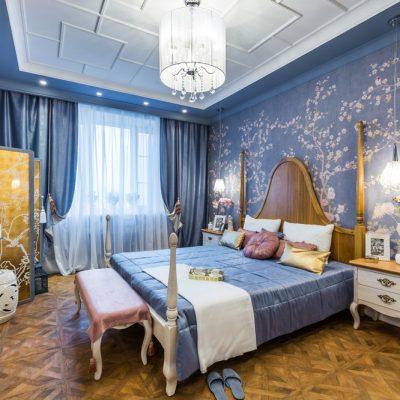 Спальня в стиле шунузари