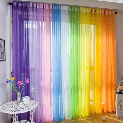 Разноцветные люверсы