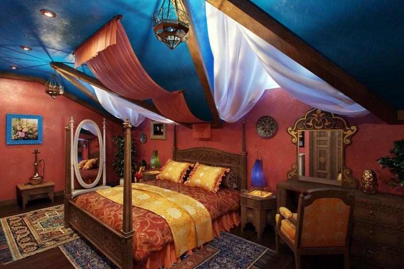 Спальня в арабском стиле