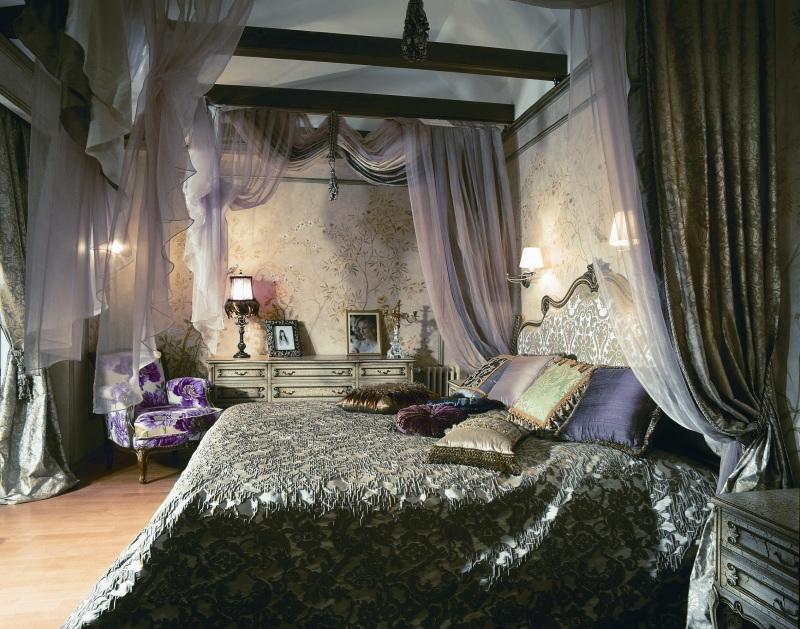 Спальня в восточном стиле: фото новинок дизайна.