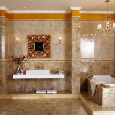 Ванна в римском стиле, похожий на греческий