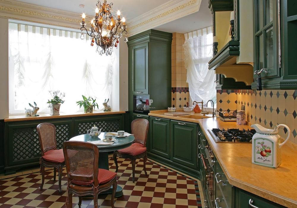 Кухня в английском стиле дизайн