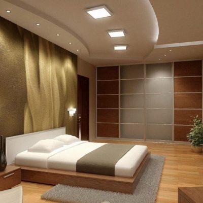 Спальня в освещении