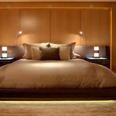 Освещение кровати