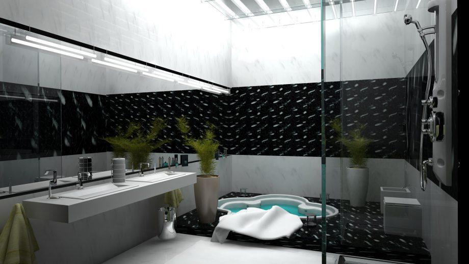 Джакузи в ванной