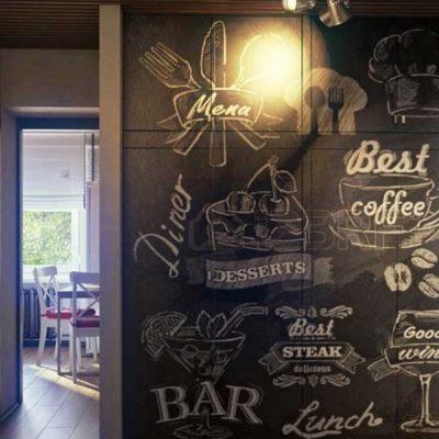 Лофт прихожей кофе