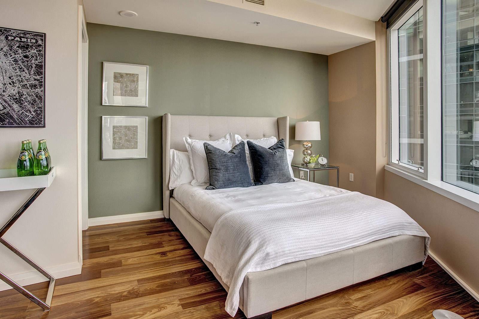 Фото пример спальни