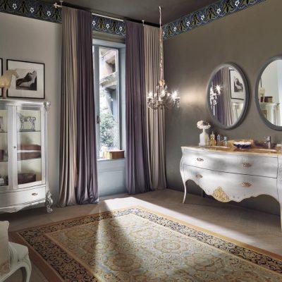 Два зеркала в барокко стиле