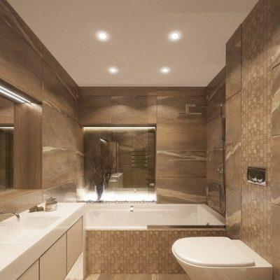 Пример ванной комнаты на фото