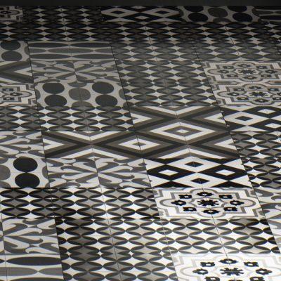 Оформление рисунка плитки