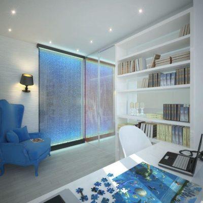 Оформление кабинета морским стилем