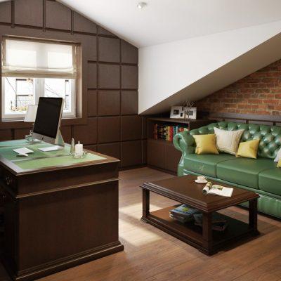 Мебель в кабинете офиса