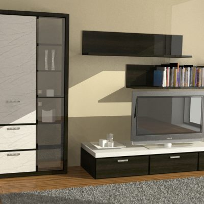 Проект шкафа в гостиную