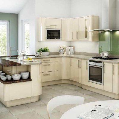 Кухня в угловом исполнении