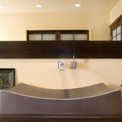 Японский стиль ванной на фото