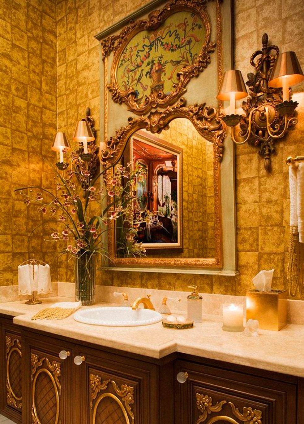 Золотистая ванная