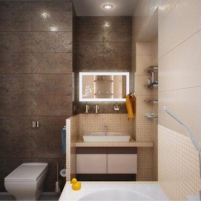Модная комната ванной