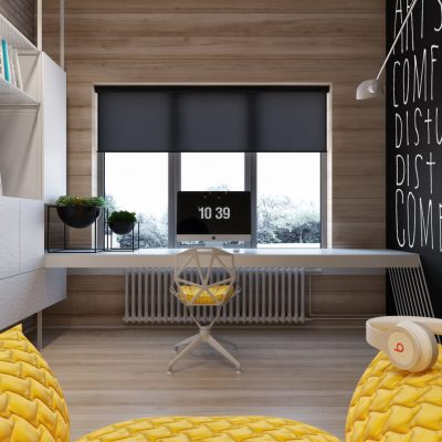 Уютный кабинет на фото