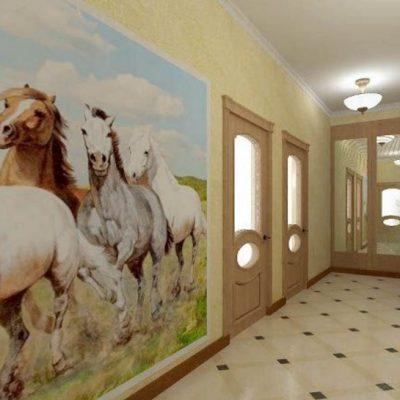 Лошади в прихожей