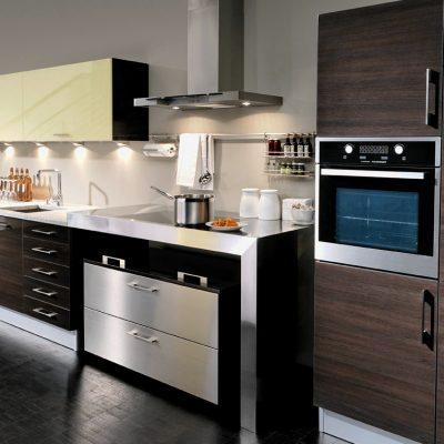 Акцент кухни стиля модерна