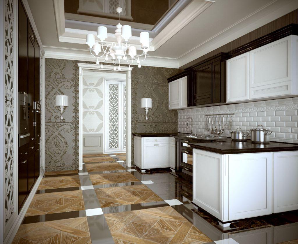 Кухня и пол