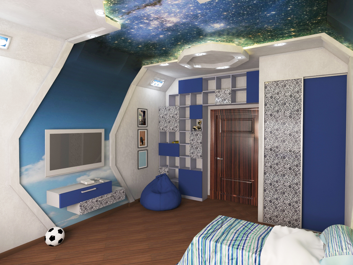 Космос в потолке