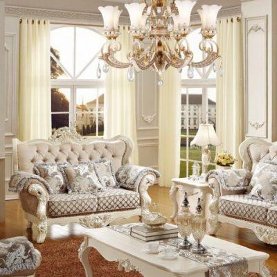 Элегантная мебель бежевого оттенка