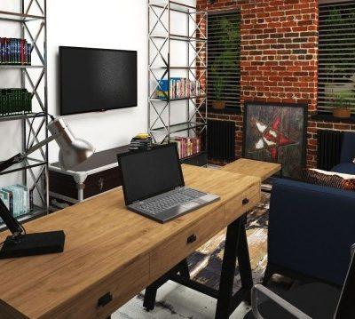 Техника в интерьере кабинета
